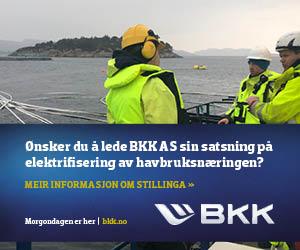 Ønsker du å lede BKK AS sin satsning på elektrifisering av havbruksnæringen?